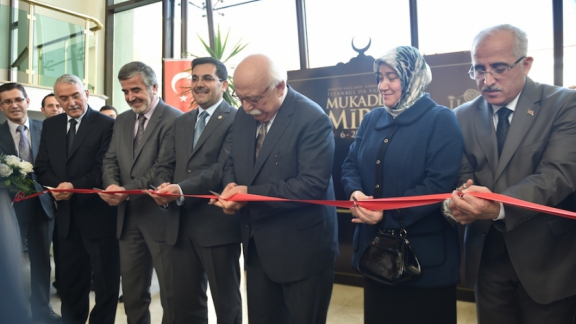 Minister Avcı opens the Sacred Heritage exhibition