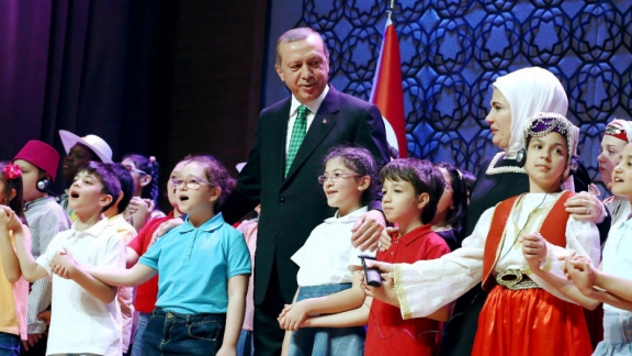 Children at Presidential Palace